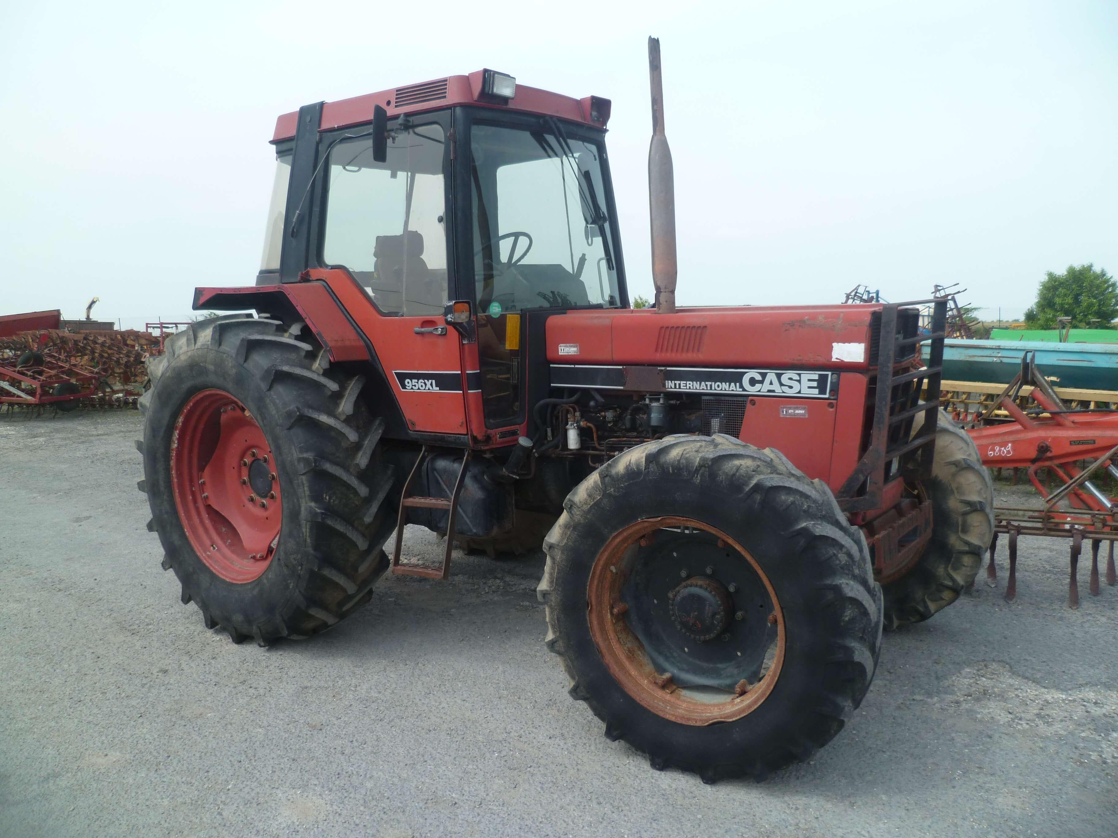 case ih tracteur agricole 956 xl