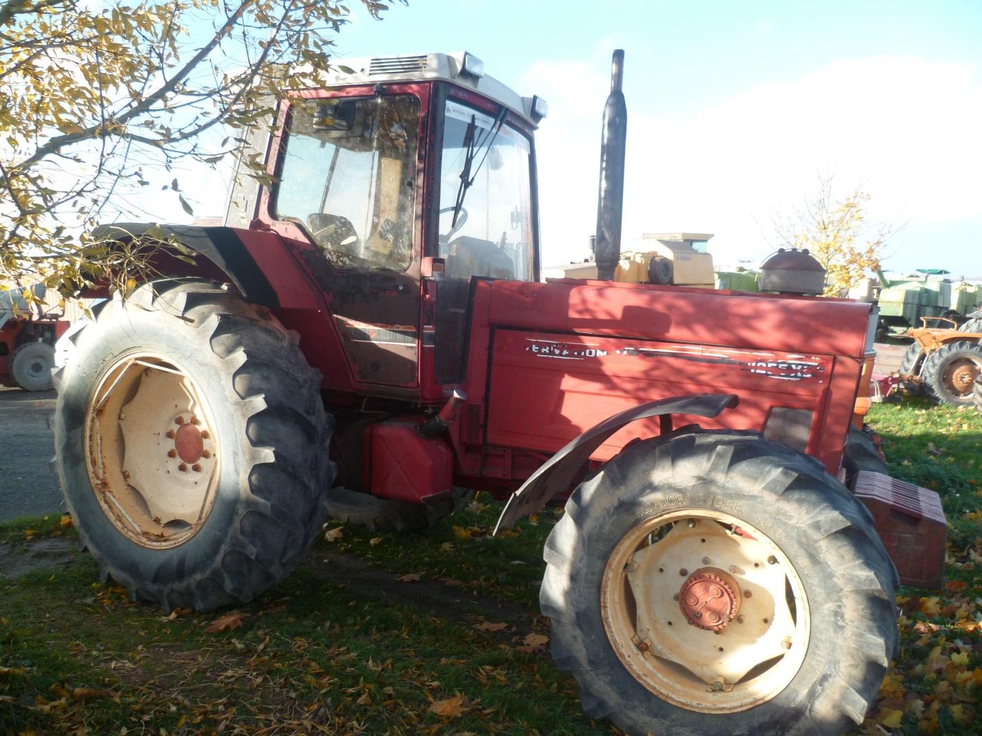 Case ih tracteur agricole 1255 xl tracteur agricole for Case agricole