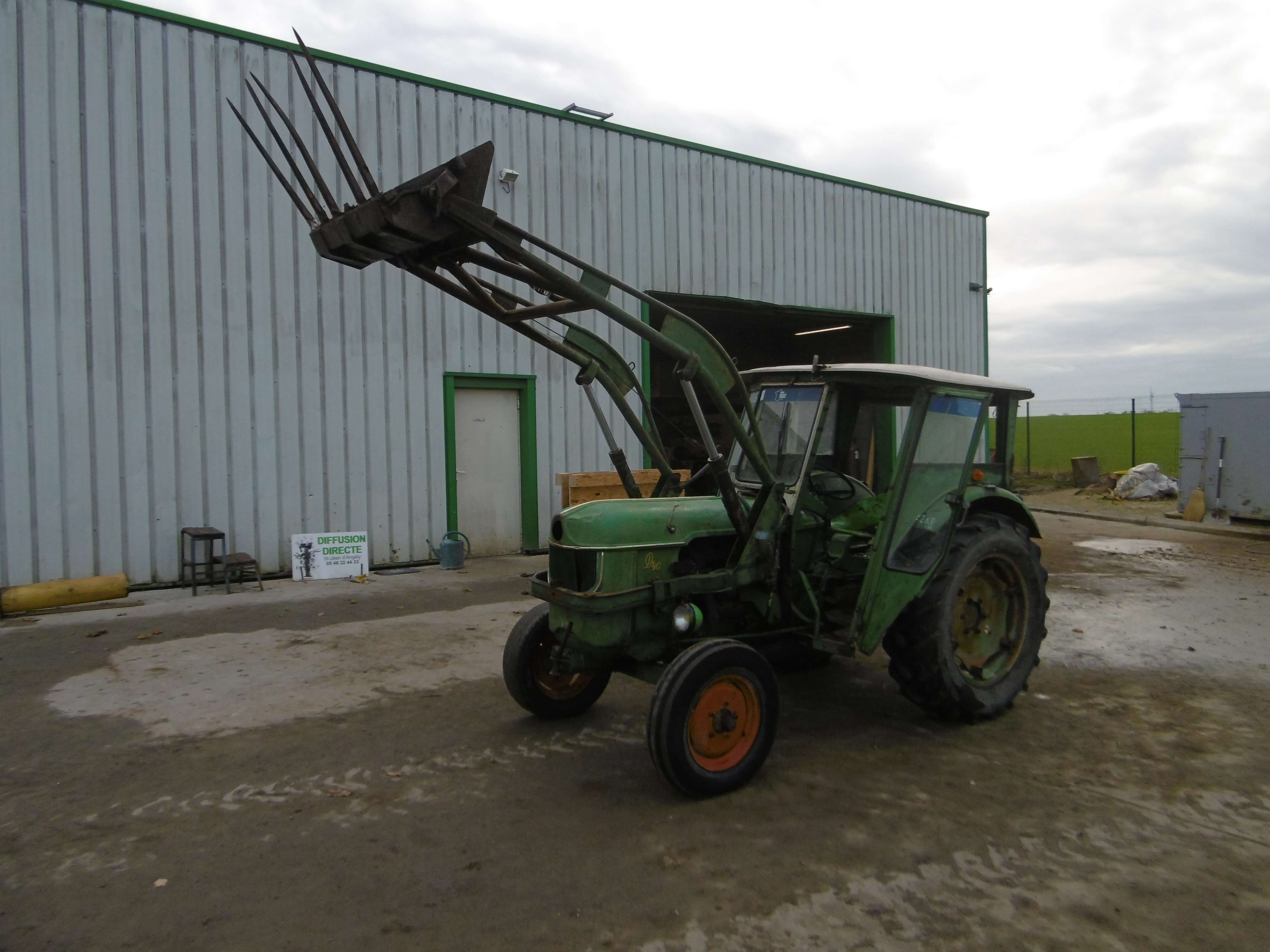 tracteur agricole d40